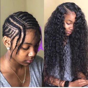 """WoWEbony 14"""" 150 Density Curly U-Part Wig"""